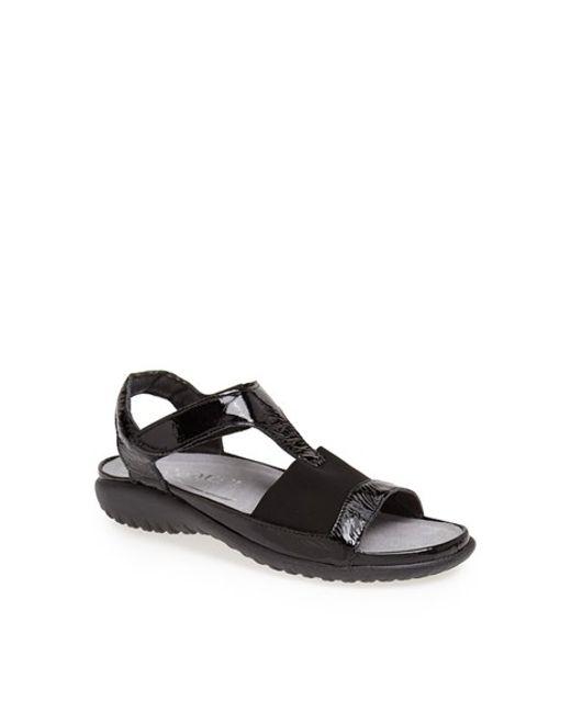 Naot | Black 'marama' Sandal | Lyst