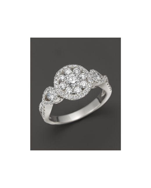 Roberto Coin | 18k White Gold Diamond Ring | Lyst