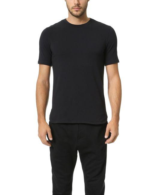 Helmut Lang   Black Jersey Short Sleeve Tee   Lyst