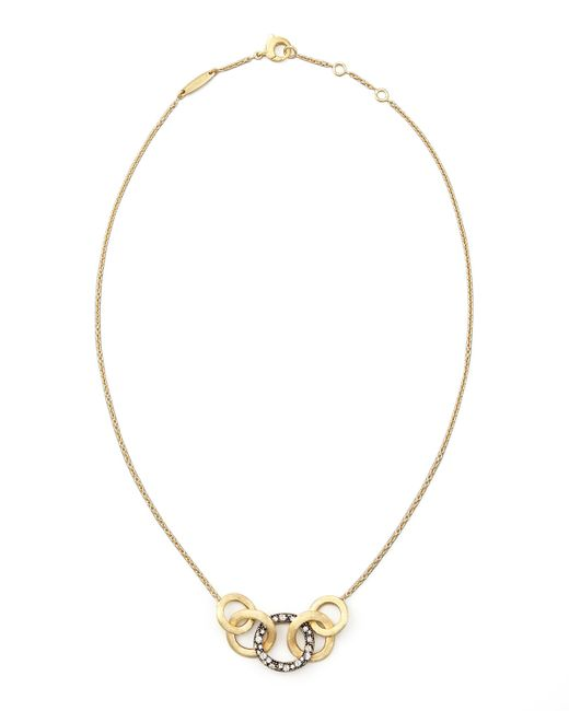 Marco Bicego | Blue Jaipur Link Pave Sapphire Necklace | Lyst