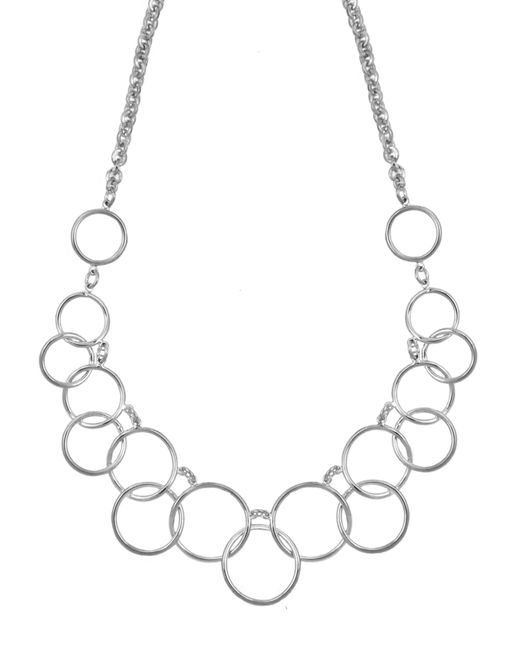 Nine West | Metallic Multi Circle Necklace | Lyst