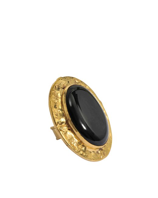 Sylvia Toledano | Black Oval Quartz Ring | Lyst