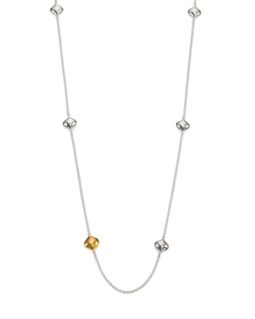 Gurhan | Metallic Clove 24k Yellow Gold & Sterling Silver Cielo Long Station Necklace | Lyst