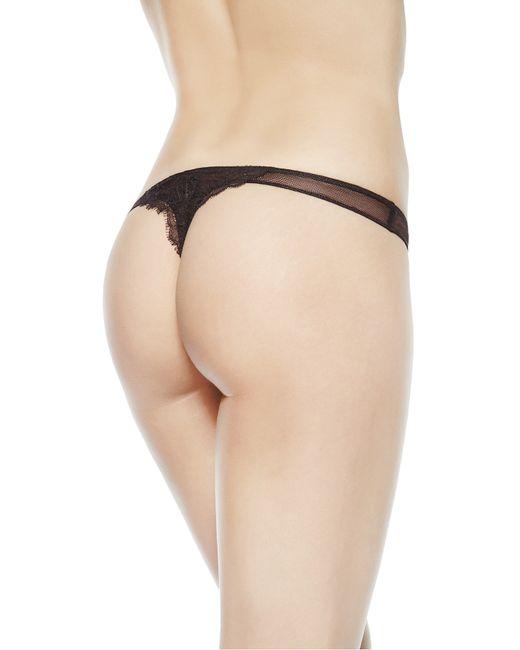 La Perla | Black Thong | Lyst
