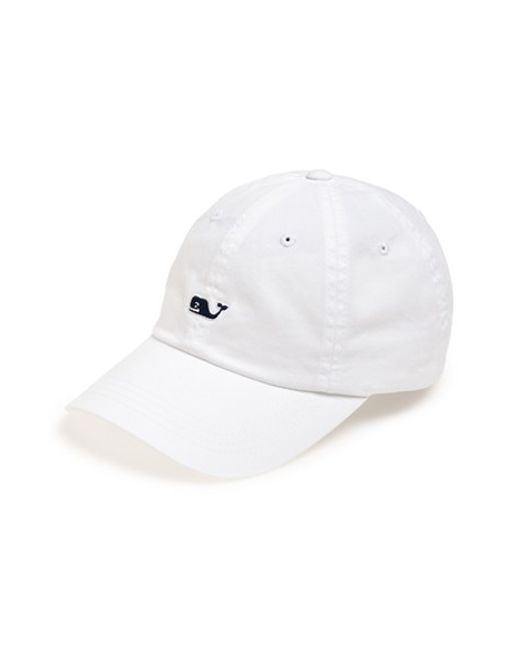 Vineyard Vines   White 'whale Logo' Cap for Men   Lyst