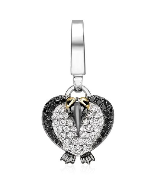 Theo Fennell | Metallic Baby Penguin 'art Charm | Lyst
