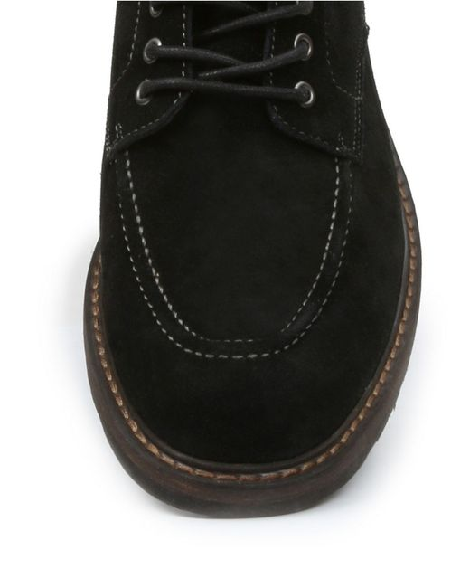 G.H. Bass & Co. | Black Reston Suede Lace-up Boots for Men | Lyst