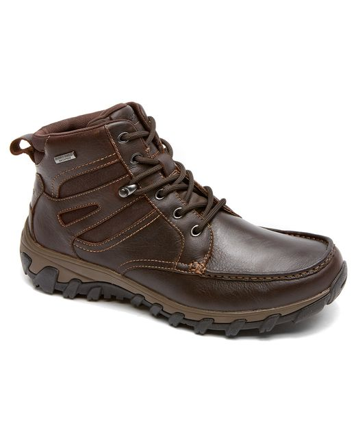 Rockport Cold Springs Plus Moc Toe Boot In Brown For Men