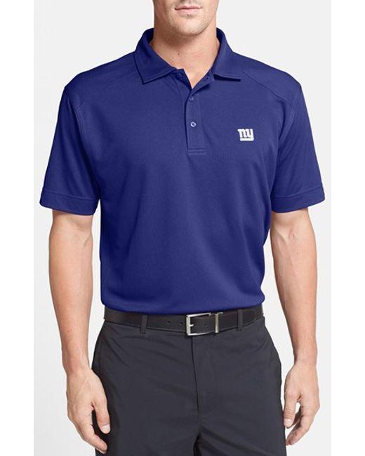 Cutter & Buck | Blue New York Giants - Genre Drytec Moisture-Wicking Polo shirt for Men | Lyst