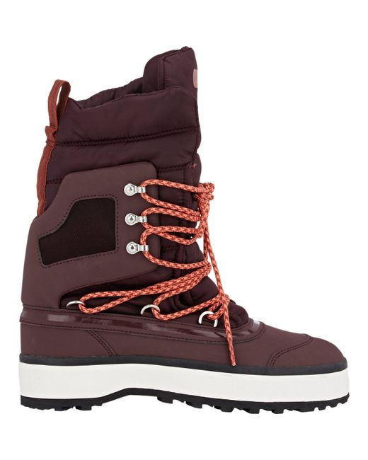 Adidas by stella mccartney Women39;s Winter Boots in Red  Save 59%