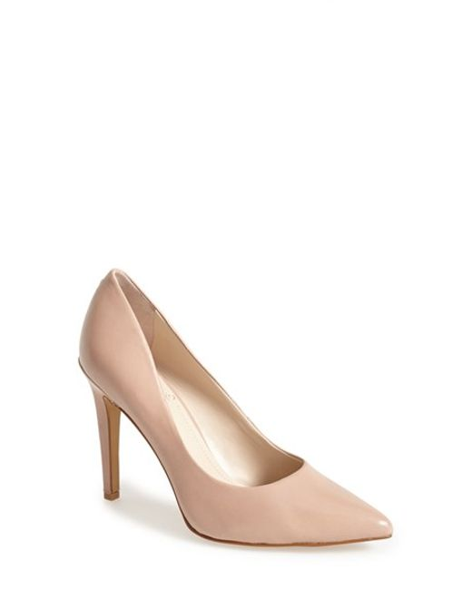 Vince Camuto | Brown Kain Leather Pump | Lyst