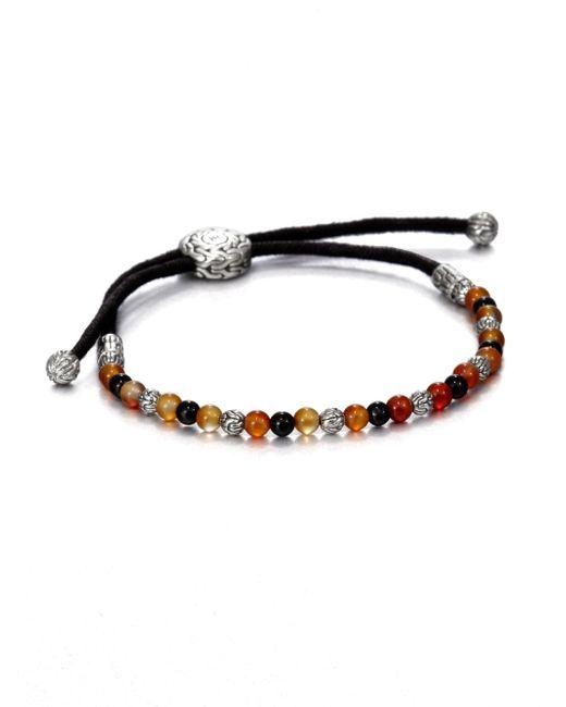 John Hardy | Black Tiger's Eye Bead Bracelet for Men | Lyst