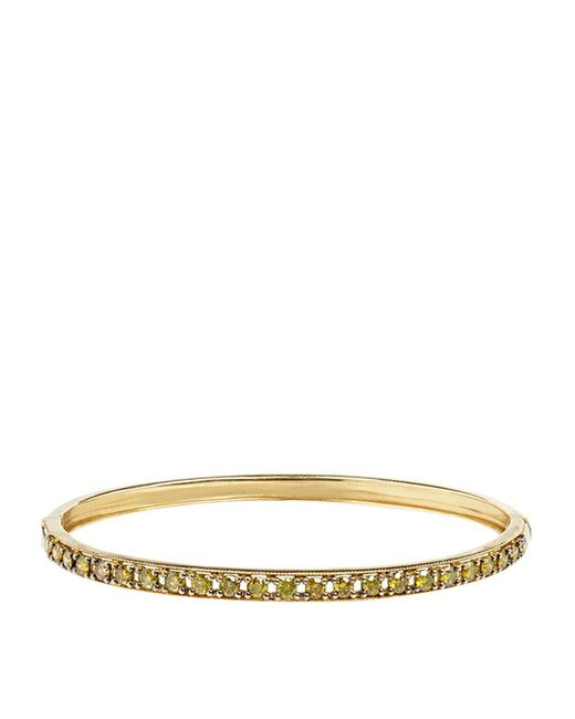 Annoushka | Metallic Dusty Diamonds Line Bangle | Lyst