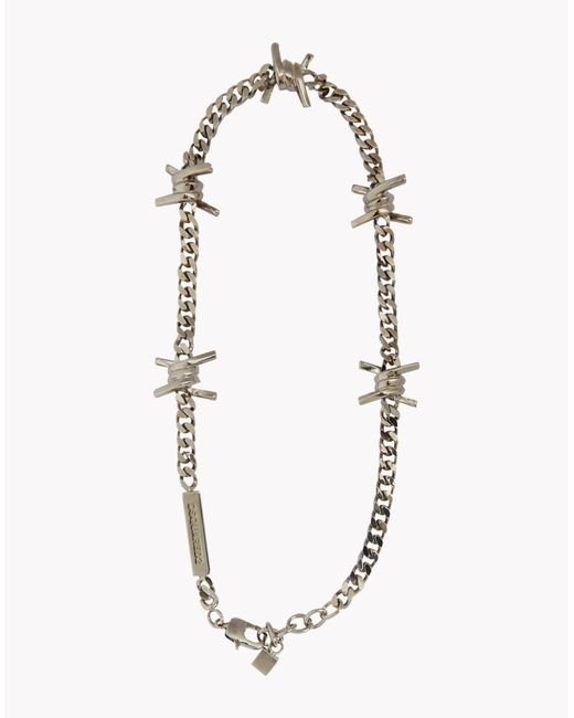 DSquared² | Metallic Babe Wire Necklace | Lyst