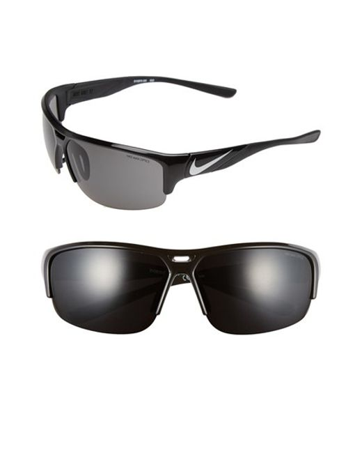 Nike | Metallic 'golf X2' 74mm Sunglasses for Men | Lyst