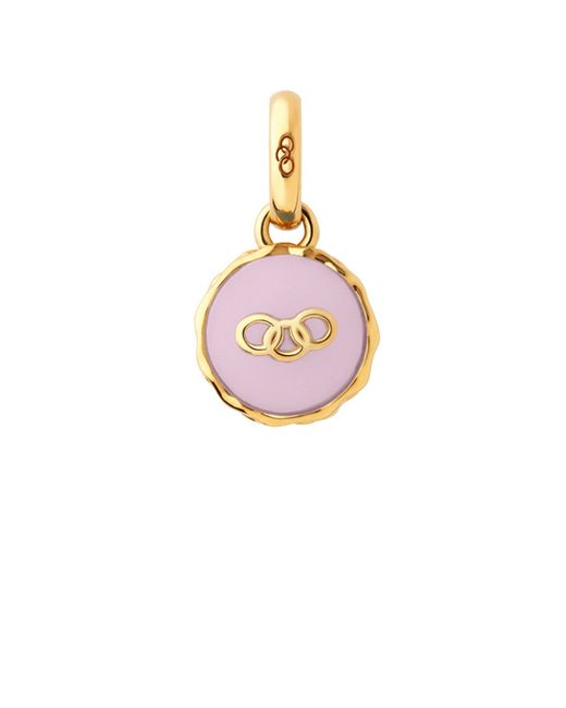 Links of London | Pink Gold Vermeil Strawberry Macaron Charm | Lyst
