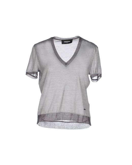 DSquared² | Gray T-shirt | Lyst