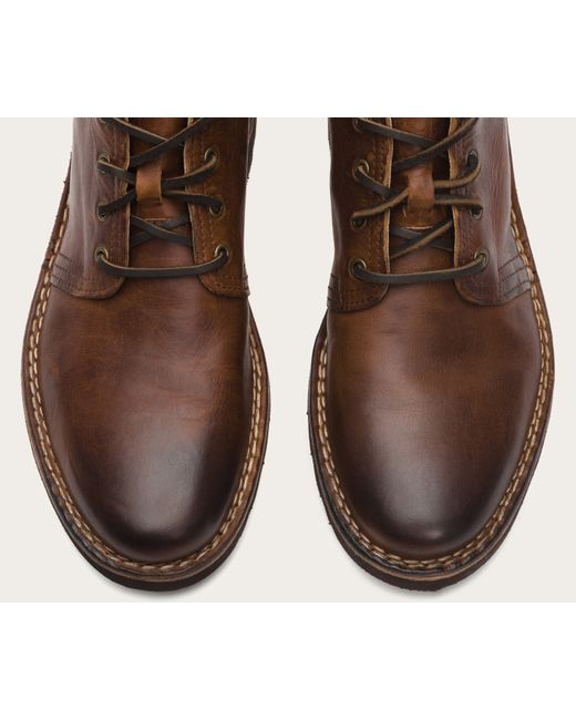 Frye | Brown Holden Leather Chukka Boots for Men | Lyst