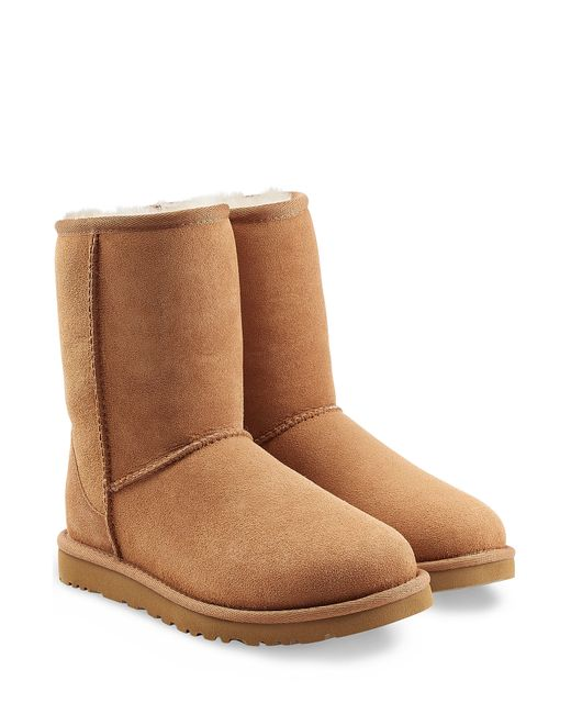 Ugg | Classic Mini Suede Boots - Brown | Lyst