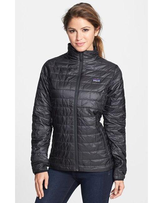 Patagonia   Black 'nano Puff' Water Resistant Jacket   Lyst