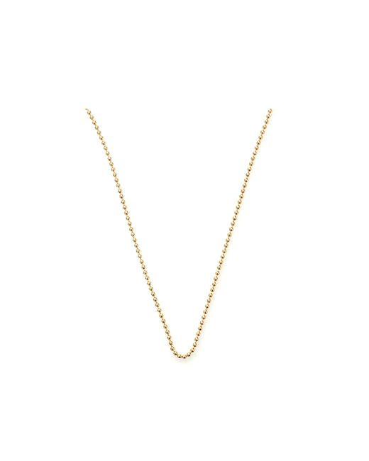 Carolina Bucci | Metallic Looking Glass Smooth Ball Chain Necklace | Lyst