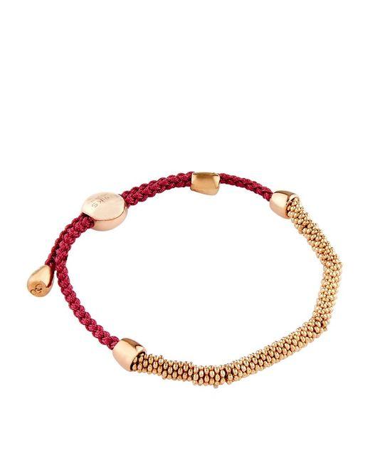 Links of London | Red Effervescence Xs Cord Bracelet | Lyst