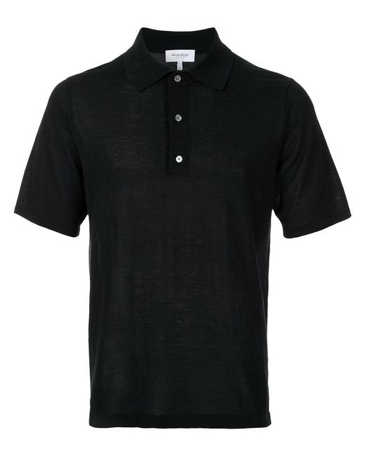 Hardy Amies | Black Classic Polo Shirt for Men | Lyst