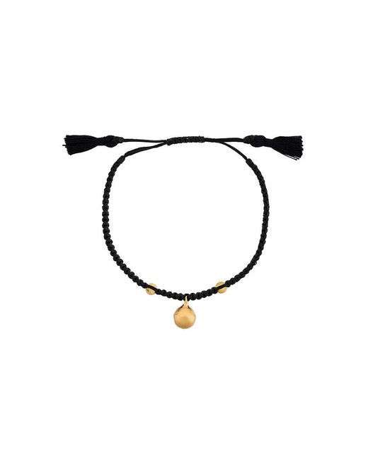 Ileana Makri - Black Beaded Bracelet - Lyst