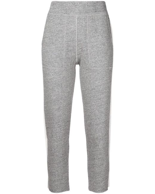 Rag & Bone | Gray Skinny Track Pants | Lyst