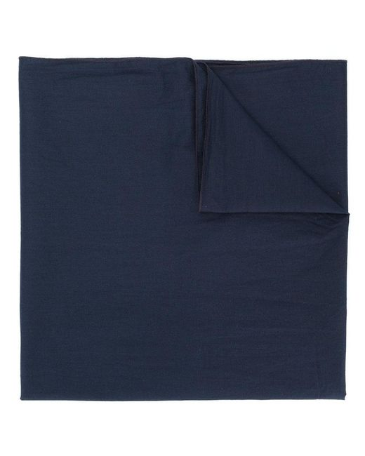 Engineered Garments - Blue Rolled Edge Scarf - Lyst