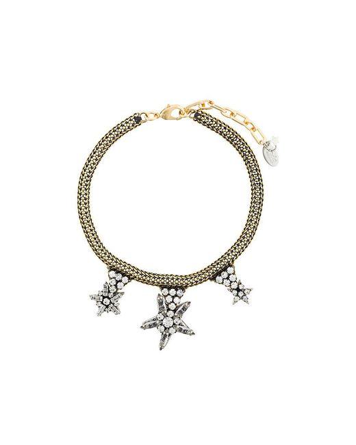 Rada' - Metallic Gemstone Detailed Necklace - Lyst