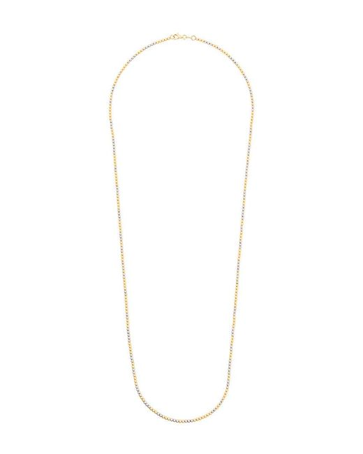 Carolina Bucci - Metallic 18kt Yellow And White Gold Long Disco Ball Necklace - Lyst
