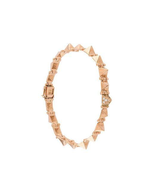 Anita Ko - Metallic Small Spike Bracelet - Lyst