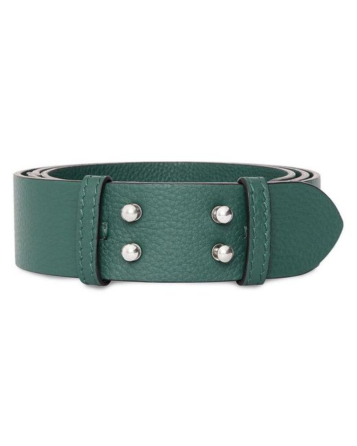Burberry - Green The Medium Belt Bag Grainy Leather Belt - Lyst