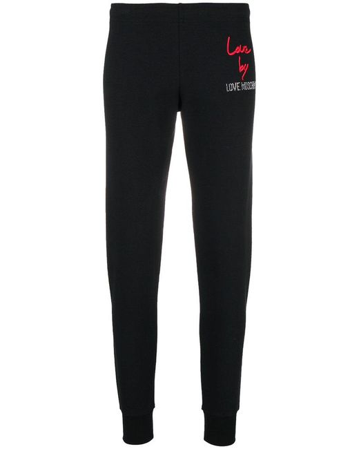 Love Moschino - Black Love By leggings - Lyst