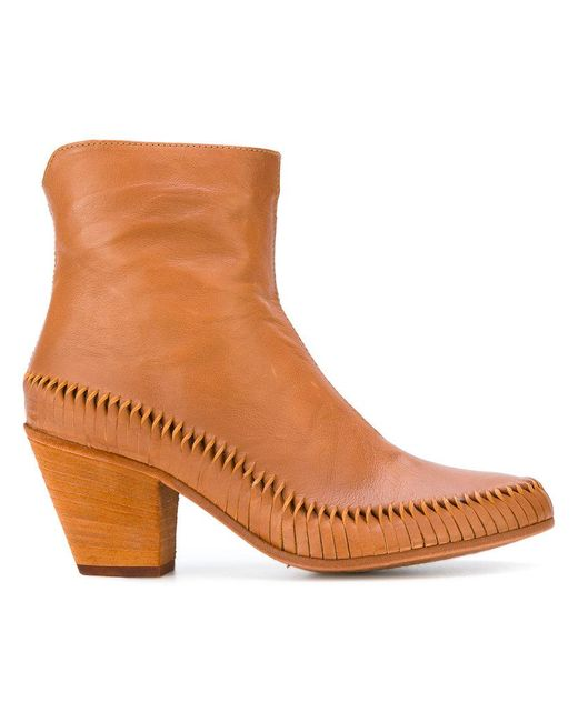 Officine Creative - Brown Irene Boots - Lyst