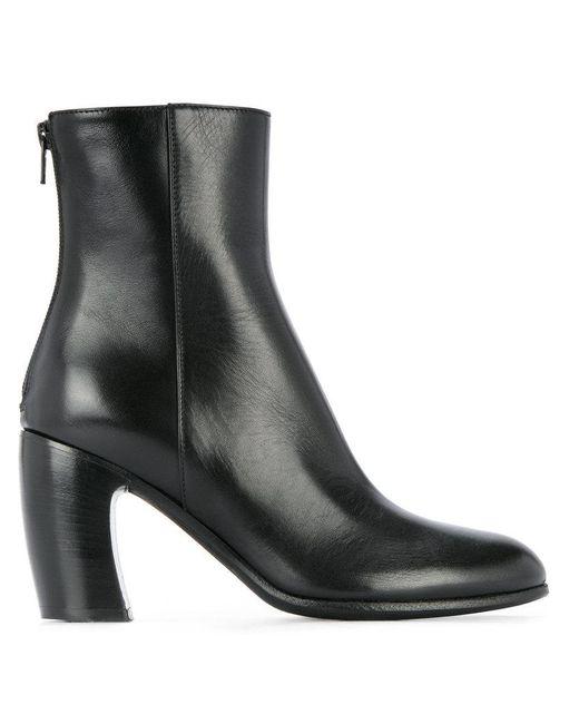 Ann Demeulemeester | Black Vitello Boots | Lyst