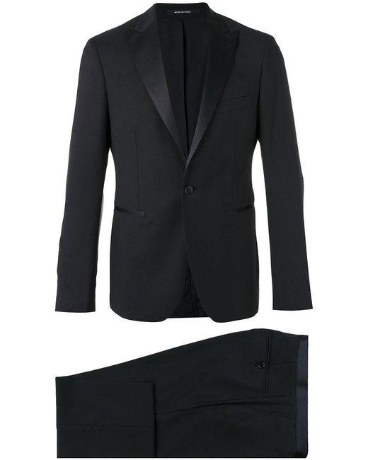 Tagliatore - Black Two-piece Dinner Suit for Men - Lyst