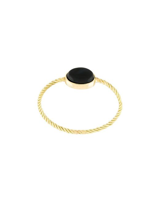 Wouters & Hendrix - Metallic Black Tiger Eye Ring - Lyst