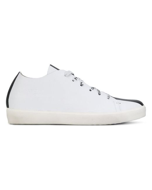 Leather Crown   White Bicolour Sneakers   Lyst