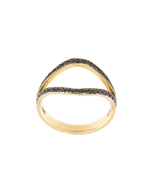 Marlo Laz | Metallic 'the Nini' Diamond Ring | Lyst