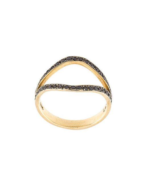 Marlo Laz | Metallic 'the Nini' Diamond Ring | Lyst