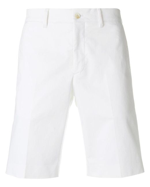Prada - White Classic Bermuda Shorts for Men - Lyst