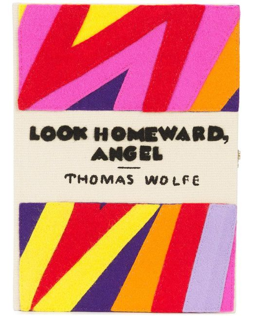 Olympia Le-Tan - Multicolor Capitol Xx Collection Look Homeward, Angel Clutch Bag - Lyst
