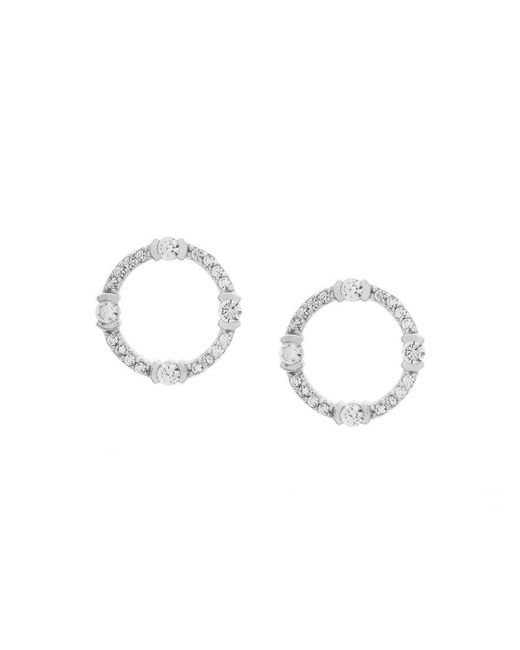 V Jewellery - Metallic Lunas Stud Earrings - Lyst