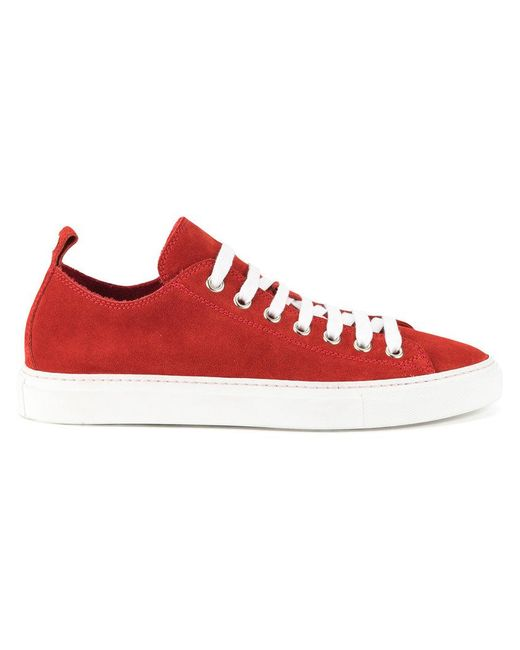 1a6526c74b64a DSquared² - Red Classic Low-top Sneakers for Men - Lyst ...