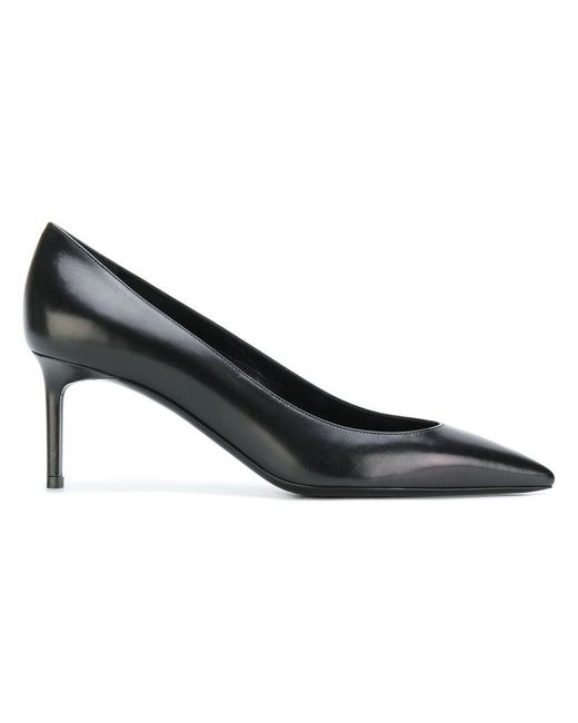 Saint Laurent - Black Anja 65 Pumps - Lyst