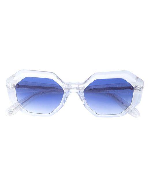 68519080897a Garrett Leight - Blue Jacqueline Sunglasses - Lyst ...