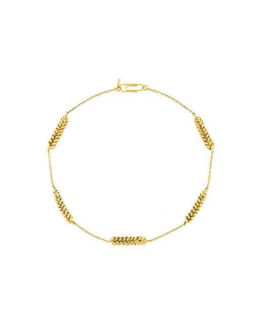 Aurelie Bidermann - Metallic 'five Wheat Cobs' Necklace - Lyst