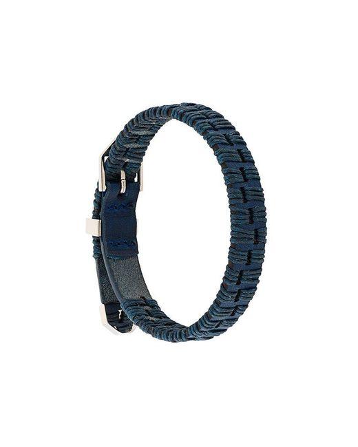 Northskull - Blue 'Alawo' Armband for Men - Lyst